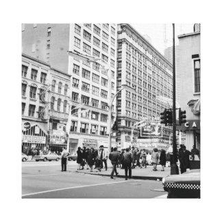 État de Chicago 1967 et casino Royale de théâtre Toile