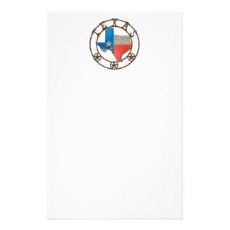 État de fer travaillé du Texas Papeterie