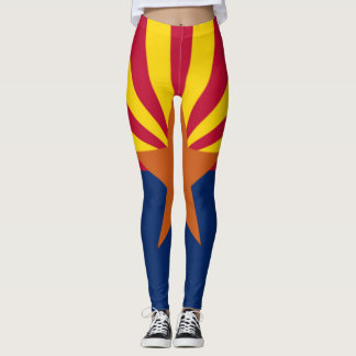 État de guêtres d'Arizona Leggings