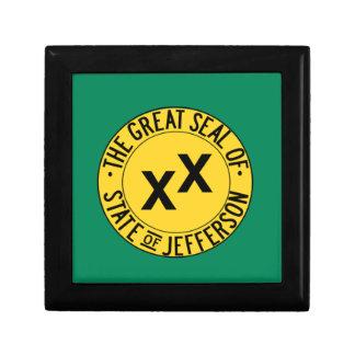 État de Jefferson Boîte À Souvenirs