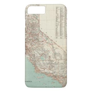 État de la Californie 2 Coque iPhone 7 Plus