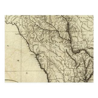 État de la Caroline du Sud Carte Postale