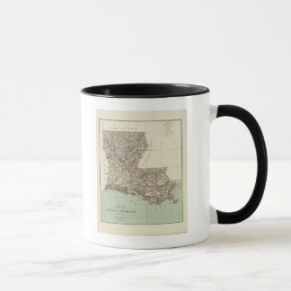 État de la Louisiane Mugs