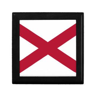 État de l'Alabama Boîte À Souvenirs