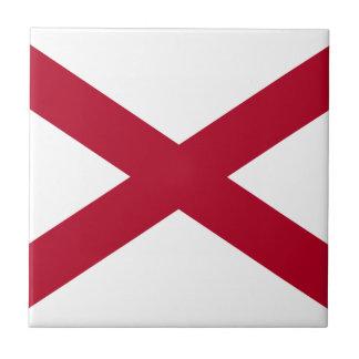 État de l'Alabama Carreau