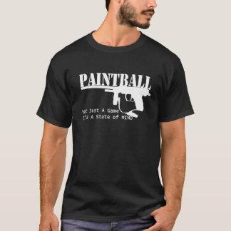 État d'esprit de Paintball T-shirt