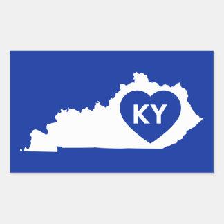 État du Kentucky d'amour des autocollants I