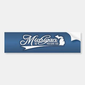 État du Michigan du mien Autocollant Pour Voiture
