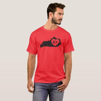 État foncé de base du Kentucky d'amour du T-shirt