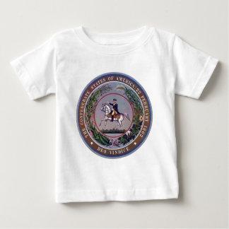États confédérés de joint d'Amérique T-shirt Pour Bébé