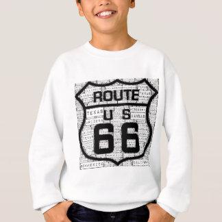 États de l'itinéraire 66 sweatshirt