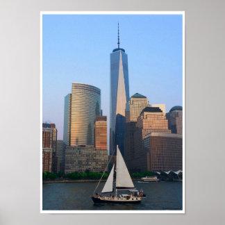 Été à New York City Poster
