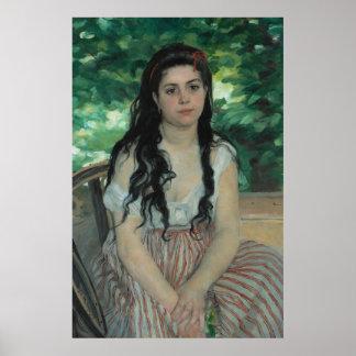 Été, Auguste Renoir Affiches