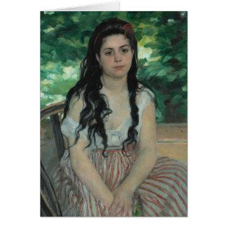 Été, Auguste Renoir Carte De Vœux