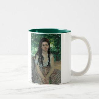 Été, Auguste Renoir Mug Bicolore