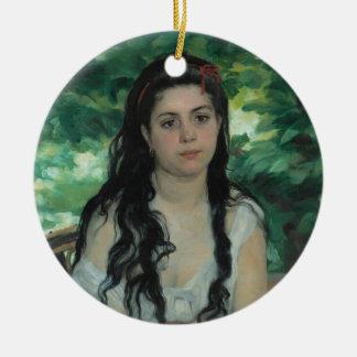 Été, Auguste Renoir Ornement Rond En Céramique