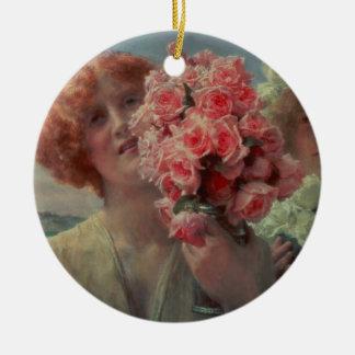Été d'Alma-Tadema | offrant, 1911 Ornement Rond En Céramique