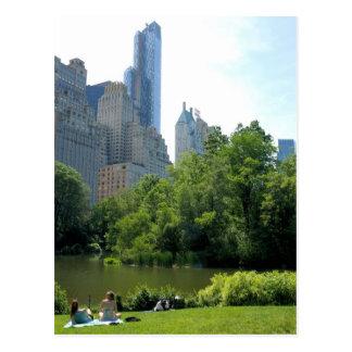 Été en carte postale de New York City de Central P