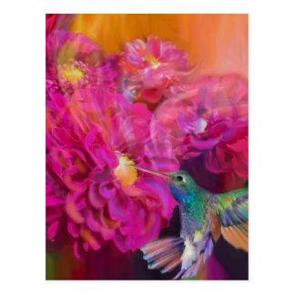 Été en pleine floraison carte postale