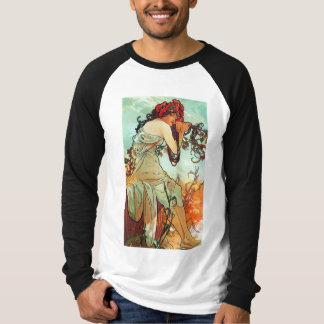 Été, les saisons, Mucha T-shirts