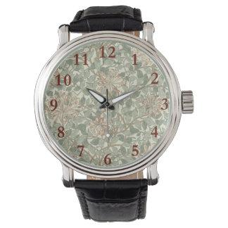 Été moderne doux vintage floral montres bracelet