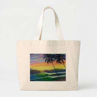 été-temps-coucher du soleil-ouest-mau grand sac