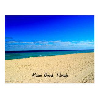 Étendue, Miami Beach, la Floride Carte Postale