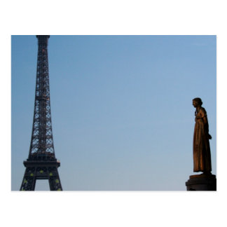 Éternité  + OU - jour de l'ONU ? - Tour Eiffel Carte Postale