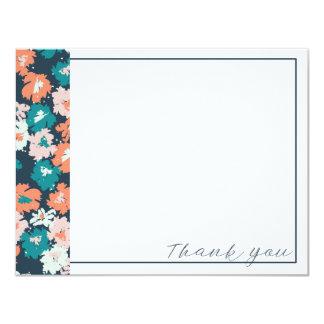 Êtes vous - carte de remerciements