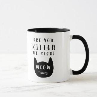 Êtes-vous chaton je bon Meow ?  Tasse