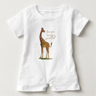 Êtes-vous eus une girafe ? barboteuse