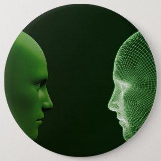 Éthique en technologie comme concept de Digitals Pin's