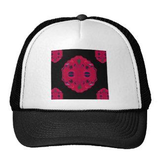 Ethno rouge sauvage de mandalas casquette trucker