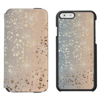 Étincelle amortie vintage d'aluminium d'étoile coque-portefeuille iPhone 6 incipio watson™