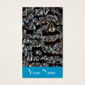Étincelle de diamant de bijoux de bijoutier cartes de visite