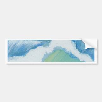 Étincelle spectaculaire - art d'océan de CricketDi Autocollant De Voiture