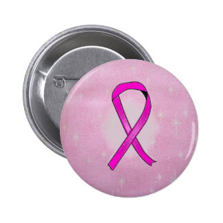 étincelles de ruban de cancer du sein pin's