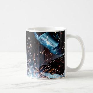 Étincelles de soudure mug