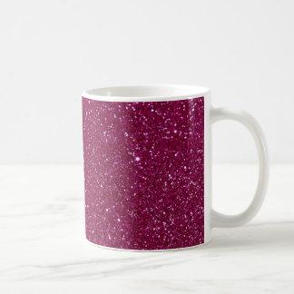 Étincelles roses de scintillement mug