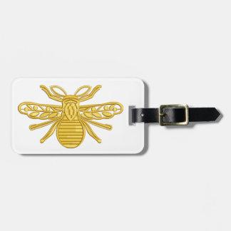 Étiquette À Bagage abeille royale, imitation de broderie
