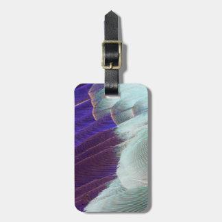 Étiquette À Bagage Abrégé sur lilas plume de rouleau de Breasted