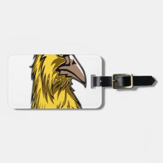 Étiquette À Bagage aigle head3
