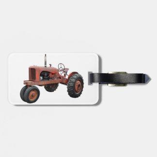 Étiquette À Bagage Aimez ces vieux tracteurs rouillés