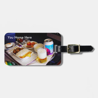 Étiquette À Bagage Airline-Meal Luggage Tag / Thai Airways