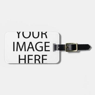 Étiquette À Bagage Ajoutez votre propre image