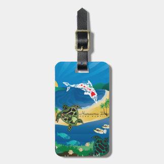 Étiquette À Bagage Aloha baie Hawaï de Hanauma
