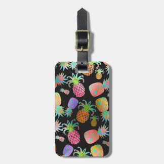 Étiquette À Bagage Ananas de PixDezines Aloha