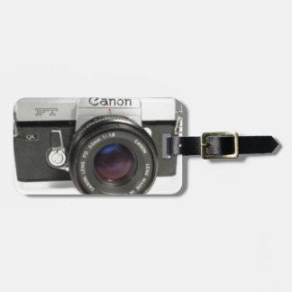 Étiquette À Bagage Appareil-photo Canon, cadeaux de photographie,