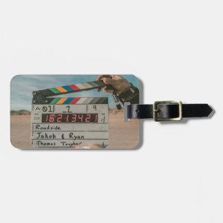 Étiquette À Bagage Appareil-photo de cinéma de film