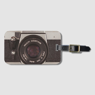Étiquette À Bagage appareil-photo des années 80